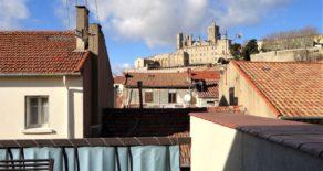 Gediget hus med stor takterrass, i Béziers
