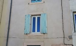 Byhus med terrass, att renovera