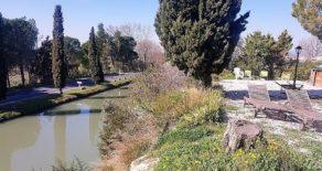 Villa med trädgård, båtplats vid Canal du Midi