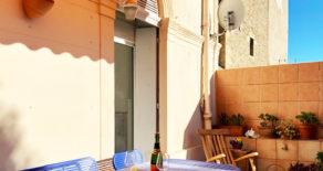 Härlig lägenhet med stor terrass, i Béziers