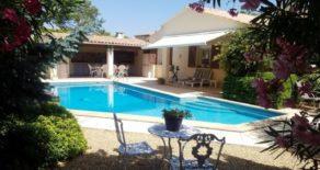 Villa med pool, nära Pézenas