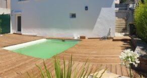 Villa med pool, centralt i Béziers