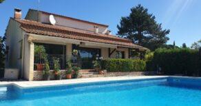 Villa med pool, vid Canal du Midi