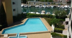 Lägenhet i residens, med pool och parkering